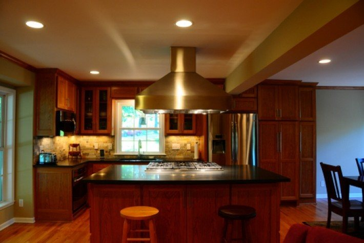 Prairie village kitchen remodel built by design built by Kitchen design for village