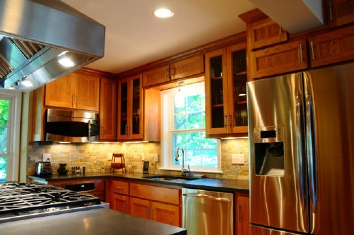 Prairie village kitchen remodel built by design built by design Kitchen design for village