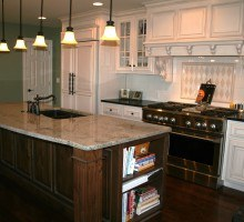granite or quartz counters