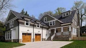 Attached Garage Addition House