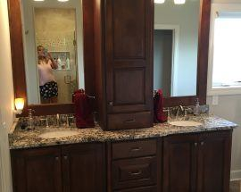 Lyon's Master Bath Sinks