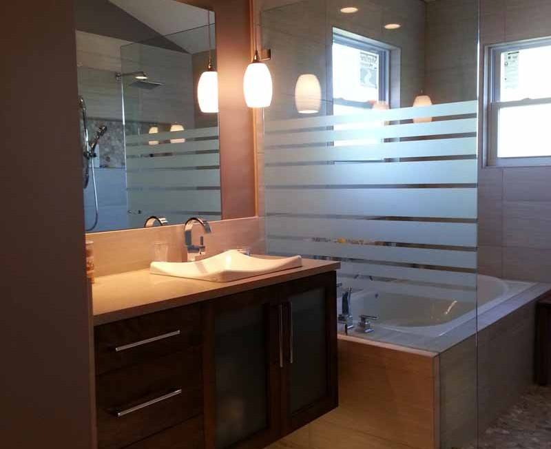 A Gorgeous Johnson County Bathroom Remodel Is Finished.